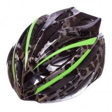 Велошлем кросс-кантри с механизмом регулировки Zelart HB31,L 58-61